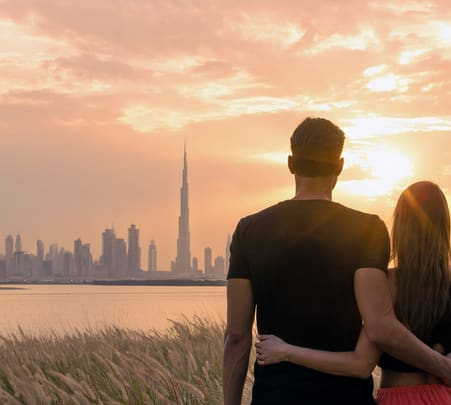 Dubai Honeymoon Package from India at Flat 20% off