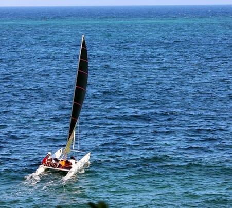 Catamaran Sailing in Goa