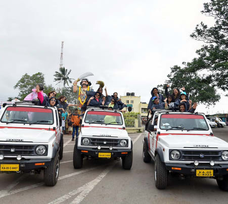 A 3-hour Open Jeep Safari in Mysore Flat 14% off