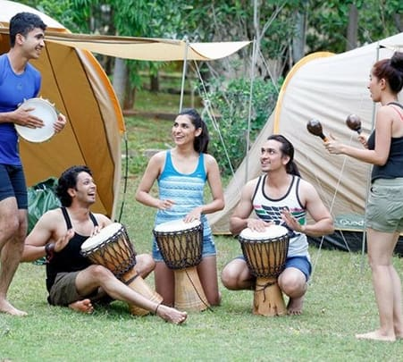 Camping and Adventure Activities at Discover Village