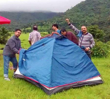 Camping and Trekking Experience around Pune