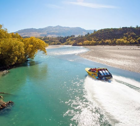 Jet Boating Experience in Queenstown, New Zealand