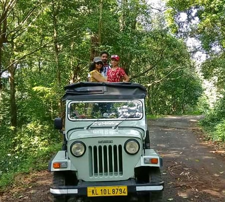 Adventure Jeep Safari in Gavi Forest, Kerala