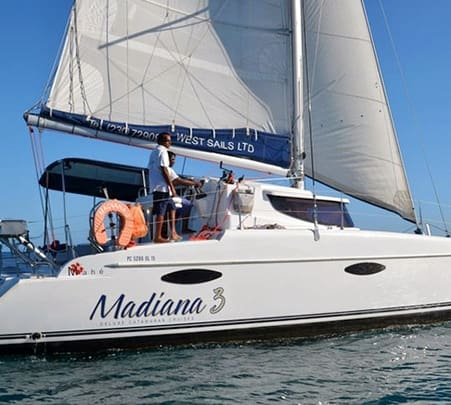Experience a Luxury Catamaran Cruise in Mauritius