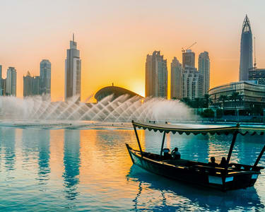Dubai Fountain Lake Ride - Flat 15% off