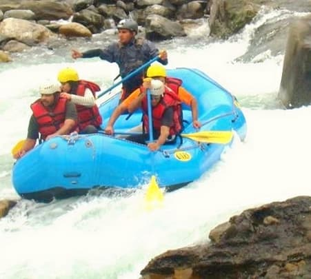 Biking, Hiking and Rafting in Mandakini and Alaknanda valley