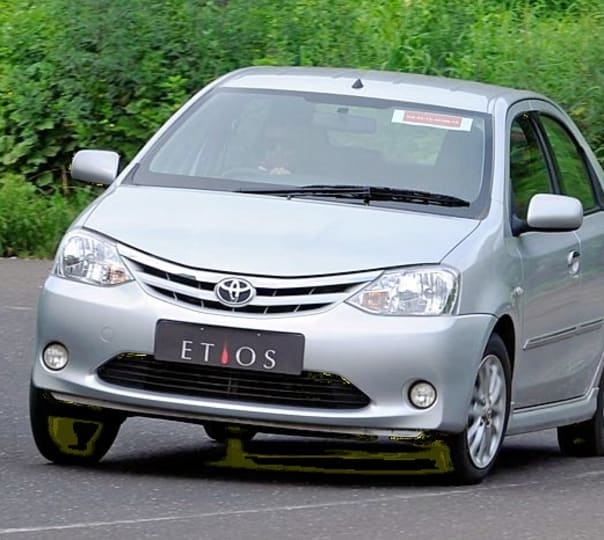 Rent an Etios in Goa