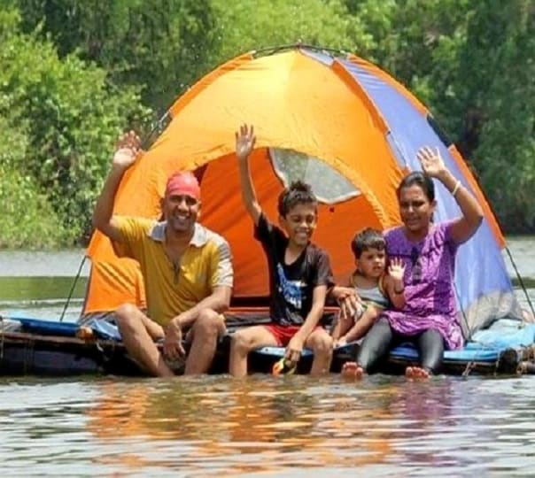 Floating Tent Camping in Badlapur