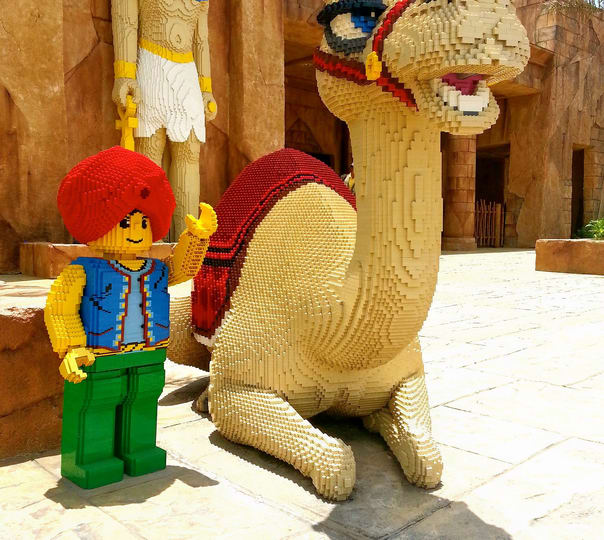 Visiting the Legoland Waterpark, Dubai