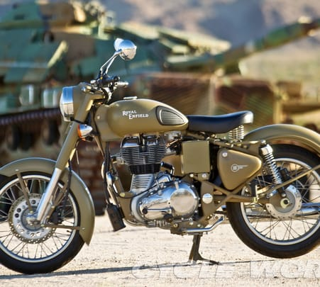 Rent a Royal Enfield in Bangalore