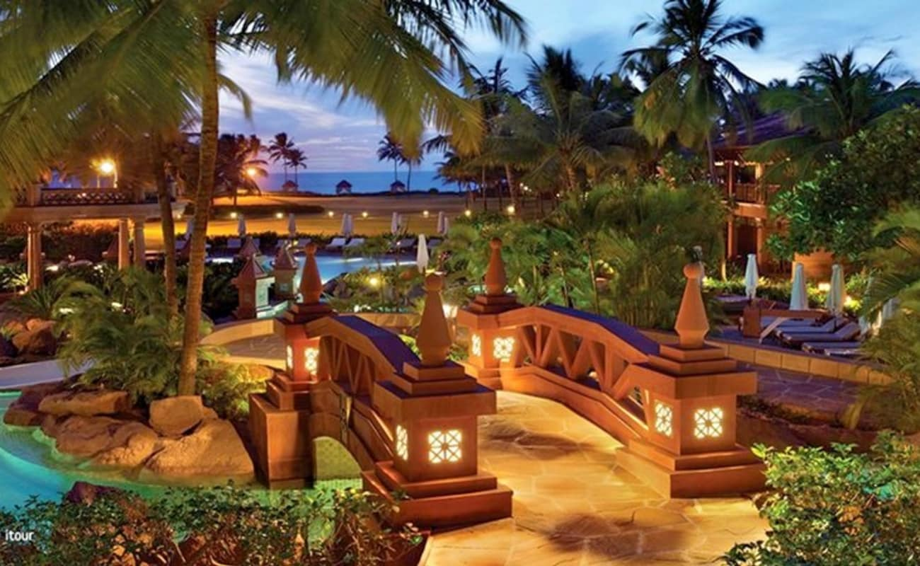 Top ten holiday resorts in india for Best spa vacations in us