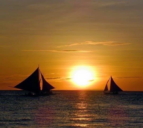 Sailing at Hollant Beach in Goa