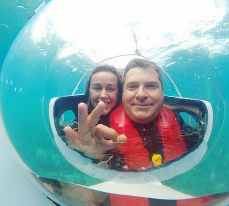 Underwater Sub Scooter Trip in Mauritius