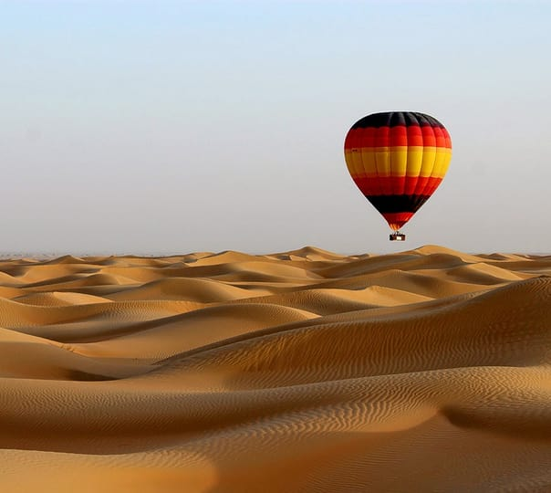 Hot Air Balloon Ride in Dubai
