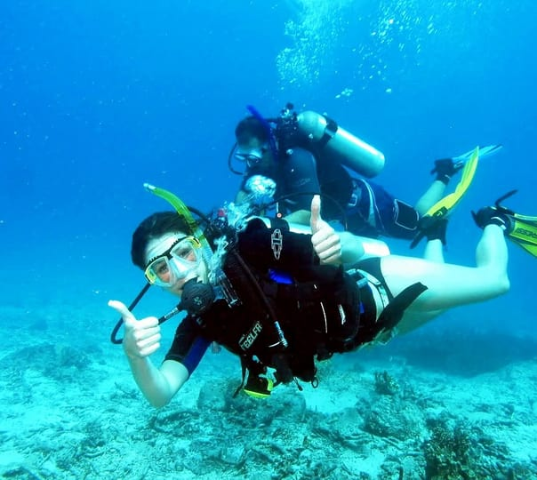 Scuba Diving at Samae San Island