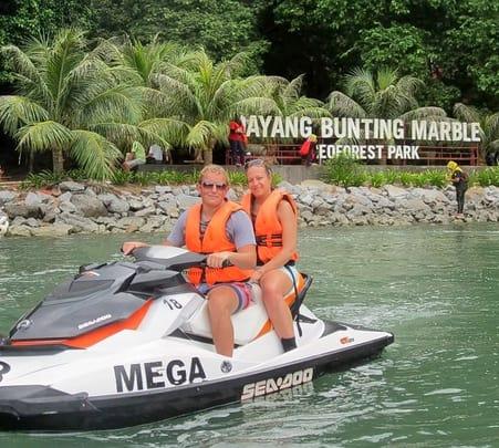 Dayang Bunting Island Tour on a Jet Ski