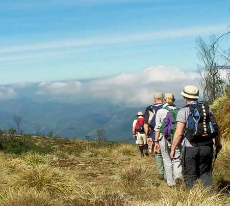 Trekking and cave Exploration experience in wayanad