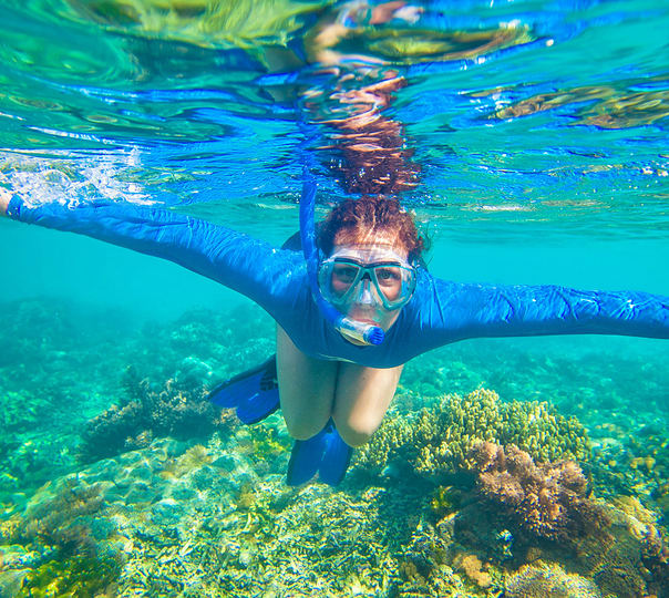 Snorkeling and Boating at Elephant Beach, Andaman