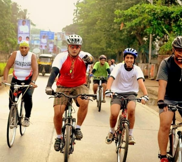 Cycle Ride to Siddhivinayaka Mahaganapati Temple in Titwala