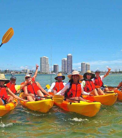 Luxury Kayak Tour To Wavebreak Island In Goldcoast