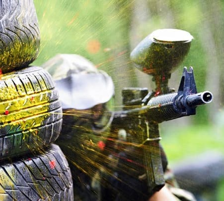Paintball Adventure at Shootout Zone in New Delhi