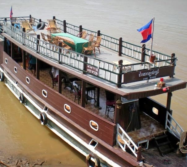 Sightseeing on a Boat in Mekong