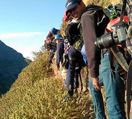 Trek to Alang, Madan, and Kulang