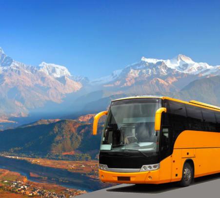 Kathmandu to Pokhara Bus Transfers - Flat 15% off