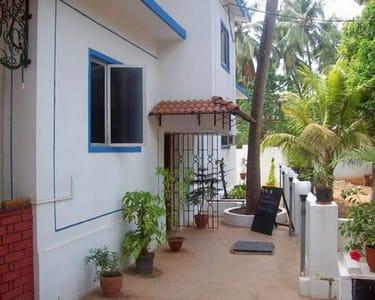 Overnight Stay at Baga Villa B&b in Goa