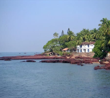 Trip to Grande Island in Goa