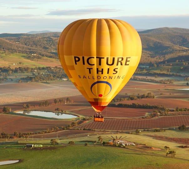 Hot Air Balloon Ride in Yarra Valley