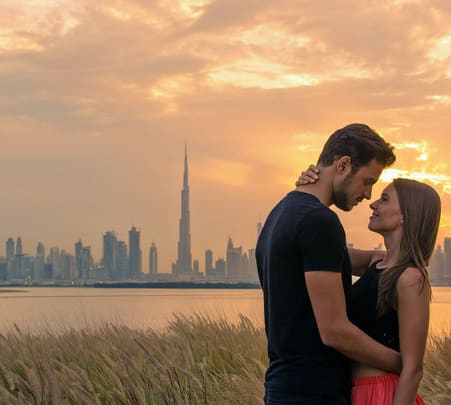 Dubai Honeymoon Package from Delhi at Flat 20% off