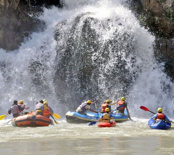 River Rafting & Hot Pool Bath at Tattapani in Shimla