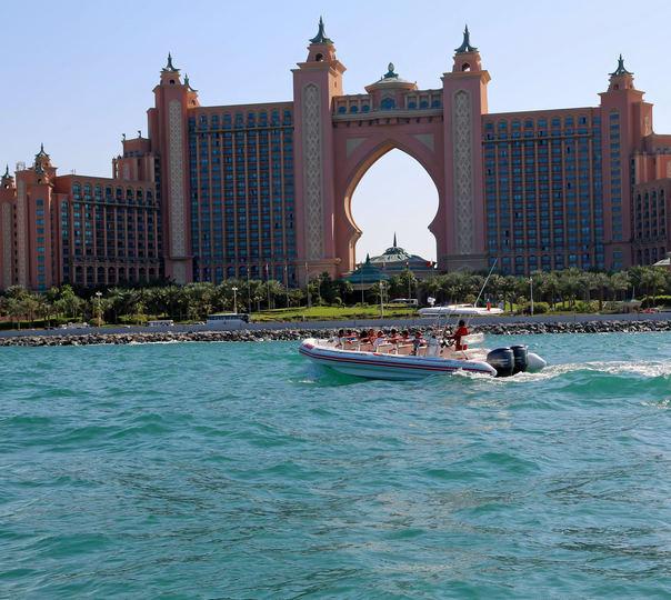 Boat Ride in Dubai Marina
