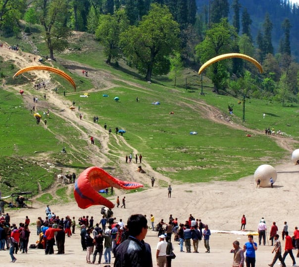 Riverside Adventure Camp in Manali