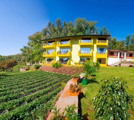 Stay in a Garden Resort near Mahabaleshwar