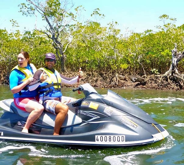 Crocodile Spotting on a Jet Ski in Cairns