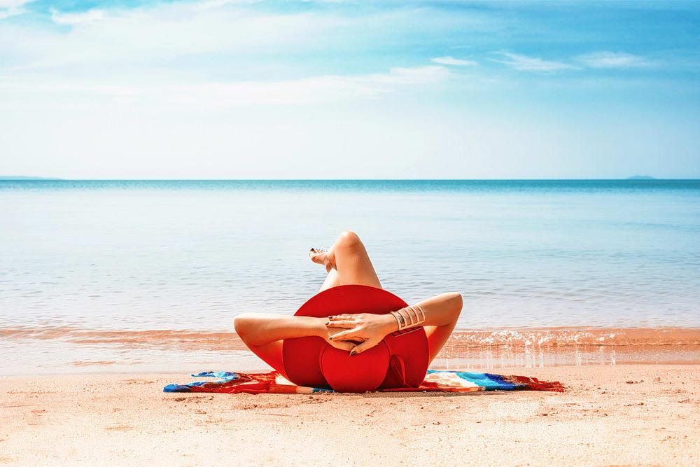 Sunbathe on Balangan Beach