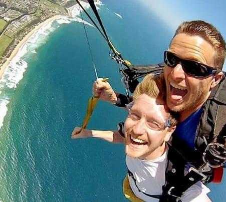 Skydiving in Sydney
