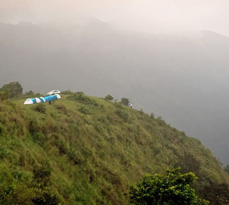 Camp above the Clouds in Vagamon, Kerala