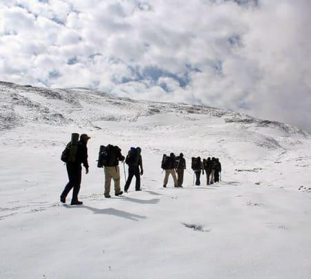 Trekking in Brahma Tal