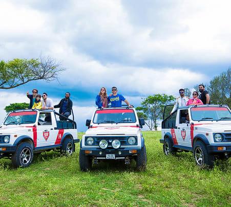 Bandipur National Park Open Jeep Safari from Mysore