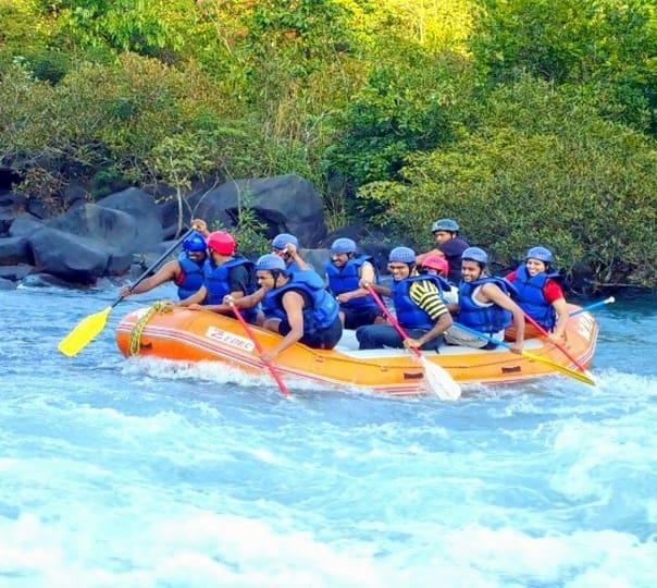 Rafting, Activities and Lakeside Stay near Kundalika River