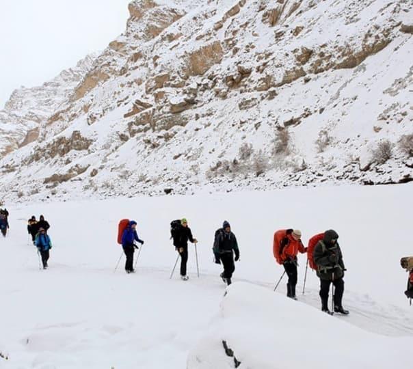 Chadar Trek 2018 Frozen River Trek, Ladakh