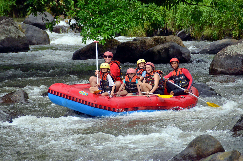Enjoy White Water Rafting on Ayung River