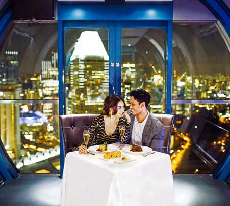 Singapore Flyer Sky Dining Flat 10% off