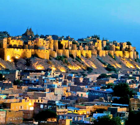 Night Walk Tour in Jaisalmer