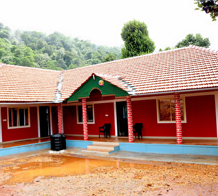 Homestay in Chikmagalur with Dual Waterfalls