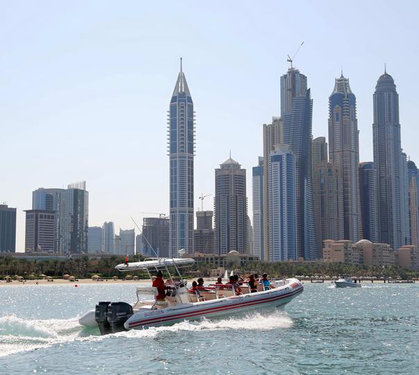 90-minutes Dubai Marina Boat Tour
