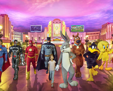 Warner Bros World Abu Dhabi - Flat 10% off